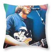 Trey Anastasio And Lights Throw Pillow