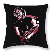 Trey Anastasio In Pink Throw Pillow