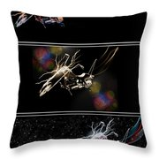 Tri - Cycles - Featured In 'comfortable Art Group' Throw Pillow