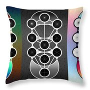 Tri-kabalah Chart Throw Pillow
