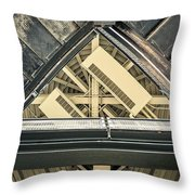 Triangle Ceiling Throw Pillow