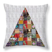 Triangle Crystals Showcasing Navinjoshi Gallery Art Icons Buy Faa Products Or Download For Self Prin Throw Pillow