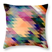 Triangles And Parallelograms Throw Pillow