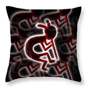 Tribal Dance Throw Pillow