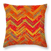 Tribal Pattern 019 Throw Pillow