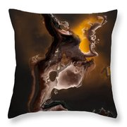 Tribal The Fire Within Throw Pillow