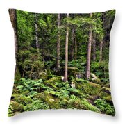 Triberg Forest Throw Pillow