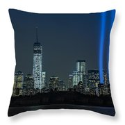 Tribute In Light 2013 Throw Pillow