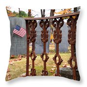 Tribute To A Soldier Throw Pillow