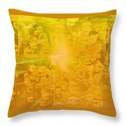 Tribute To Dew Throw Pillow