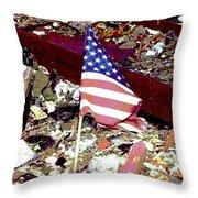 Tribute To Joplin Throw Pillow