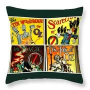 Tribute To Oz Throw Pillow