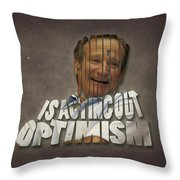 Tribute To Robin Williams Typography Throw Pillow