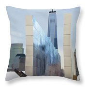 Tribute To Sept 11 Throw Pillow