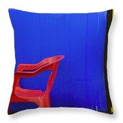 Trichromat Throw Pillow