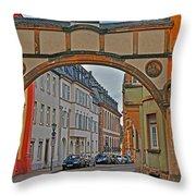 Trier Street Throw Pillow