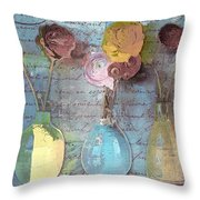Triflorus - S02ac4 Throw Pillow