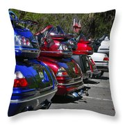 Trike - Parade Throw Pillow by Christine Till