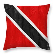 Trinidad And Tobago Flag Throw Pillow