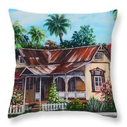 Trinidad House  No 1 Throw Pillow