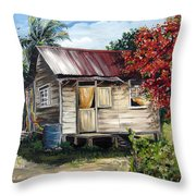 Trinidad Life 1  Throw Pillow