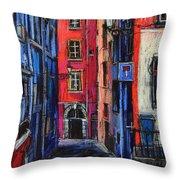 Trinite Square Lyon Throw Pillow