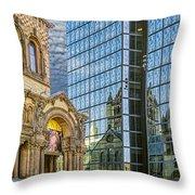Trinity Church Throw Pillow