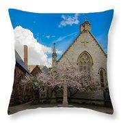 Trinity Courtyard Throw Pillow