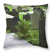 Trinity Fern Squared Throw Pillow