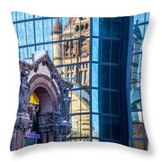 Trinity Reflections Throw Pillow