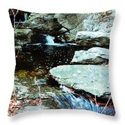 Triple Waterfall Throw Pillow