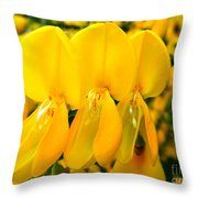 Triplet Throw Pillow