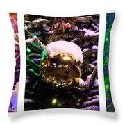 Triptych - Christmas Decoration - Featured 3 Throw Pillow