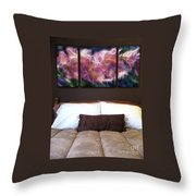Triptych Display Sample 01 Throw Pillow