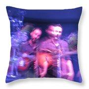 tripy photo of Dave Matthews Throw Pillow