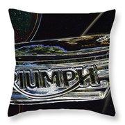 Triumph 2 Throw Pillow