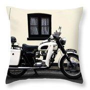 Triumph Metropolitan Police Throw Pillow