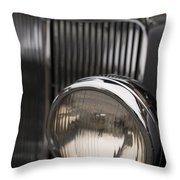 Triumph Roadster One Headlight Throw Pillow