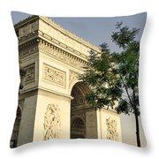Triumphal Arc  Throw Pillow