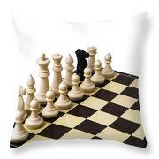 Trojan Horse - Featured 3 Throw Pillow