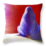 I'm Always Sitting Alone Under The Full Moon  Throw Pillow