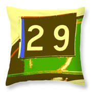 Trolley 29 Throw Pillow