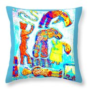 Trolls Also Have Families Throw Pillow