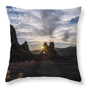 Trona Sunburst Throw Pillow