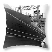 Troop Carrier Throw Pillow
