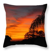 Tropica Royale Throw Pillow