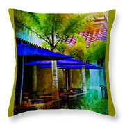 Tropical Al Fresco Throw Pillow