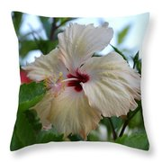 Tropical Beauty Throw Pillow