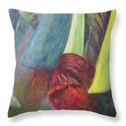 Tropical Experience Throw Pillow