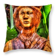 Tropical Farms 4 Throw Pillow